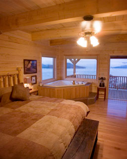 Luxury Two Story Cabins