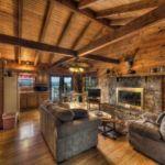 Couples Cabin interior
