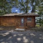 Couples cabin exterior