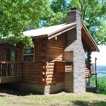 Couples Cabin exterior