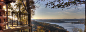Savor the Ozark Mountain serenity